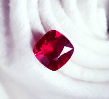 9.98 Ct Loose Gemstone Certified Natural Ruby Cushion Shape