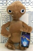"""New E.T. Extra Terrestrial Plush Doll Alien Movie ET Toy Factory Stuffed 12"""" NWT"""