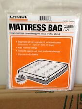 NEW  Queen sized mattress bag for moving storage protection from dust Easy 2 Use