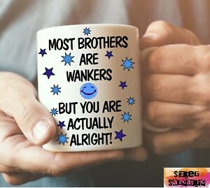 Brother Son Dad Rude Cup Mug Gift Novelty Funny Birthday Present Christmas