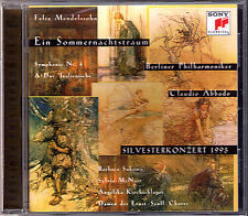 Claudio ABBADO: MENDELSSOHN Ein Sommernachtstraum Symphony No.4 KIRCHSCHLAGER CD