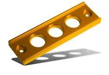 BLOX RACING BILLET BATTERY TIE DOWN 92-00 CIVIC 94-01 INTEGRA 00-09 S2000 GOLD