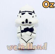 Stormtrooper USB Stick, 32GB Star Wars 3D USB Flash Drives WeirdLand