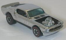 Redline Hotwheels Chrome 1970 Mustang Boss Hoss oc8964
