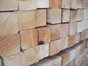 SOFTWOOD UNGRADED  EASED EDGE TIMBER EX 50mm X 50mm (2X2) VARIOUS LENGTHS