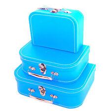 Set 3x Bauletto Cartone Valigetta FC1936T Box Baule Beauty Case Porta Oggetti