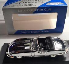 Crome Lledo Collectors Club Vanguards Jaguar E-Type VA049 08 Mint In Box