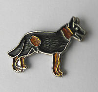 GERMAN SHEPHERD DOG CANINE ANIMAL LAPEL PIN BADGE 3/4 INCH