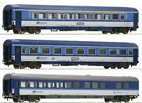 """Roco H0 54169-S Eurocity-Wagenset der CD 3-teilig """"Neuheit 2020"""" - NEU + OVP"""