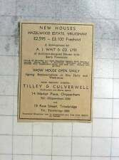 1961 New Houses, Hazelwood Estate, Melksham £2595