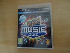 BUZZ! Definitiva MUSIC QUIZ (PS3) NUEVO NO Encordados
