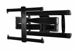 """Sanus VLF728-B2 Large Black Full Motion LED OLED TV Wall Bracket for 42-75"""" TV's"""