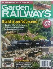 Garden Railways June 2017 Build A Perfect Scene Tips & Ideas FREE SHIPPING sb
