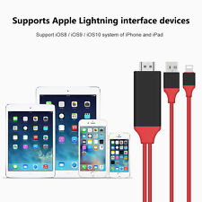 2M Apple Lightning To HDMI Cable 8 Pin Digital HDTV AV Adapter for iPad iPhone