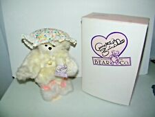 """Annette Funicello Collectible Teddy Bear """" Dream Keeper """" w/ Box & Stand Vgc"""