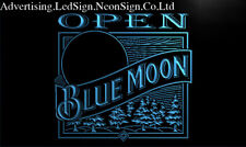 Blue Moon Beer Open Bar Led Neon Sign Bar Beer Pub Club 3D Signs