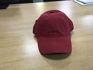 ASHWORTH Baseball Hat Red *NEW w/ TAGS* Summer Golf Cricket Summer Cotton