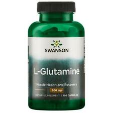 Swanson L-Glutamine - 500 mg 100 Caps