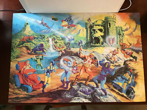 Masters Of The Universe He-Man 1983 Jigsaw Puzzle