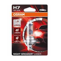 Osram H7 12V 55W Night Breaker LASER +130% mehr Licht 1st. 64210NBL-01B NEU !!