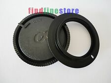 5pcs M42 Lens to Sony Alpha Minolta AF MA adapter + CAP A65 A77 a5D wholesale 5x