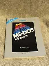 Vintage 1985 TANDY MS-DOS Volume 1 The Basics 2nd Edition David A Lien Softcover
