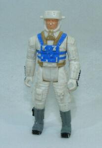 Figurine ROBOTIX 1985 MB personnage blanc et bleu 9,5cm espace jeu construction