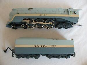 MTH Premier Proto 2.0 Santa Fe Blue Goose 4-6-4 Hudson Locomotive #20-3194-2 EX