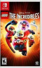 Lego The Incredibles Nintendo Switch Brand New Sealed Free Shipping