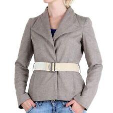 Cappotti e giacche da donna in lana grigia business