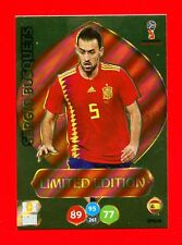 WC RUSSIA 2018 -Panini Adrenalyn-Card Limited Edition Brasil- BUSQUETS - SPAIN