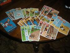 JEU DE FAMILLES TINTIN 32 CARTES - HERGE / MOULINSART 2011