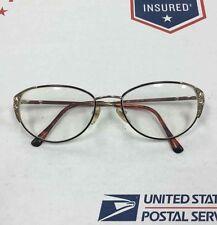Glass Frames Optical Eyeglass Frame Women's Silver Tone Rectangular CST09