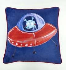 Star Ship Cushion Arthouse Space Planets Double-sided