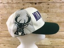Vtg Milwaukee Bucks Hat Cap Snapback Sports Specialties Script Acrylic Wool NBA