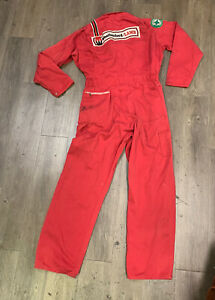 VTG 60's Weatherford Lamb Oil Worker Coveralls Jumpsuit  Size 42 Long