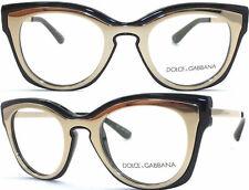 Dolce&Gabbana Brillenfassung DG5020 501 48mm schwarz gold Aussteller 34 200