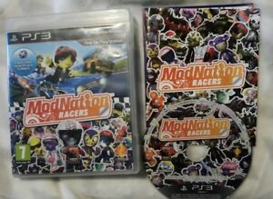 PS3 Modnation Racers  Playstation 3 Tested Complete, Free UK Post