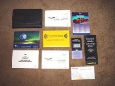 2008 Corvette w/Navigation Factory GM Original Owners Manual Set Complete N Mint