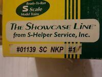 S-HELPER SHOWCASE LINE S SCALE #01139  NICKLE PLATE ROAD  WOODSIDE STOCK CAR #1