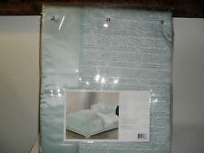 NATORI CANTON BLUE QUEEN QUILTED SILK DUVET COVER MSRP $625