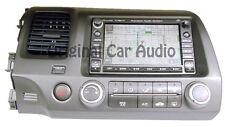 06 07 08 HONDA Civic Navigation GPS Radio Single CD XM SAT 2AC6 2006 2007 OEM