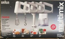 Braun Multimix M880 All-in-one Chopper Mixer Immersion Blender - Missing Bowl
