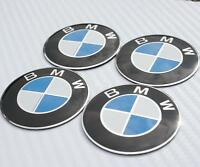 56mm BMW Steering Wheel Center Hub Caps Emblem Badge Decal Symbol Sticker Chrome