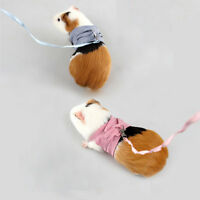 Small Animal Harness Leash Rope For Hamster Rabbit Squirrel Guinea Pig Walk Lead
