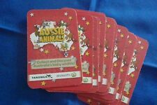 Full Complete Set of Woolworths Red Aussie Animal Cards Nos. 1-36.