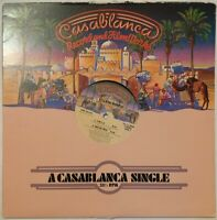 "VILLAGE PEOPLE YMCA 12"" CASABLANCA ONE SIDED RECORD EX CON PRO CLEANED"