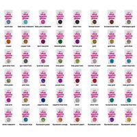 "Hemway SUPER CHUNKY Ultra Sparkle Glitter Flake Decorative Craft Flake 1/8"" 3MM"