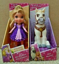 Disney Tangled Mini Sparkle Rapunzel & Maximus Figures *New*