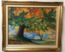 Patrick Anderson original signed landscape, framed, acrylic on canvas-circa 1993